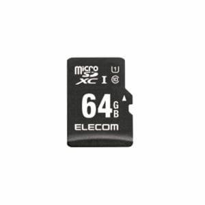 エレコム MF-CAMR064GU11A MicroSDXCカード/IKARUS付/UHS-I U1 64GB