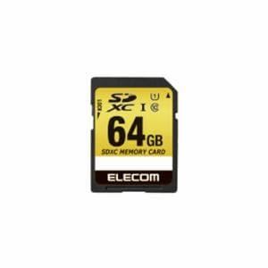 エレコム MF-CASD064GU11A ドラレコ/カーナビ向け 車載用SDXCメモリカード