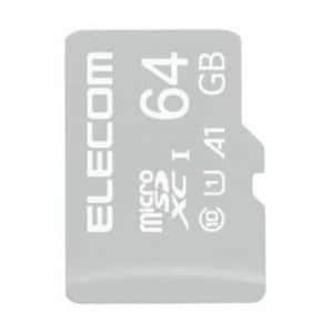 エレコム MF-TM064GU11IKA MicroSDXCカード/IKARUS付/UHS-I U1 64GB