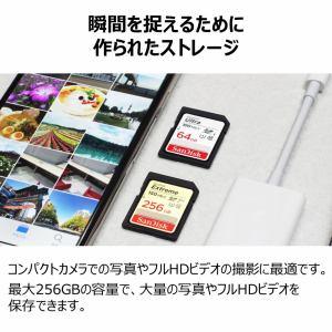 サンディスク エクストリーム プラス SDXC UHS-I 64GB SDSDXW6-064G-JNJIP 高速に動く被写体の撮影や連写撮影に最適!