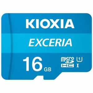KIOXIA KMU-A016G MicroSDカード EXERIA 16GB