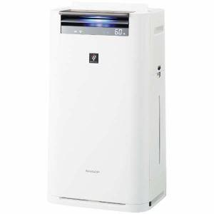 シャープ KI-JS70-W プラズマクラスター25000搭載 加湿空気清浄機(空清31畳まで/加湿18畳まで)ホワイト系