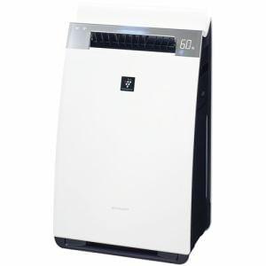 シャープ KI-J75YX ヤマダ電機オリジナルモデル プラズマクラスター搭載加湿空気清浄機 (空清31畳まで/加湿22畳まで)ホワイト系