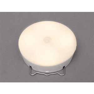 アイリスオーヤマ 乾電池式屋内センサーライト マルチタイプ 電球色 ホワイト BSL40ML-W