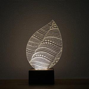 Feel Lab FL16016 LEDスタンドライト Leaf  電球色
