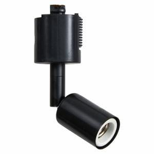 ヤザワ Y07LCX100X01BK スポットライトショート 黒 E17(電球なし)