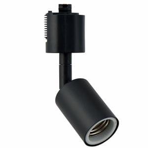 ヤザワ Y07LCX150X02BK スポットライトショート 黒 E26(電球なし)