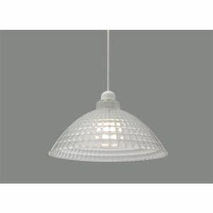 アイリスオーヤマ PL8L-E26CG1 LEDペンダントライト LED電球セット Lapin ガラス調 Mサイズ クリア