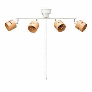ヤザワ CEX60X01NA シーリングライト 4灯 ナチュラル