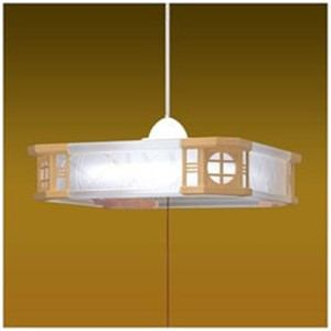 タキズミ RVR80081 リモコン付LED和風ペンダントライト (~8畳) (昼光色) 調光