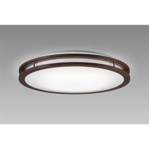 NECライティング HLDC08214 LEDシーリング 8畳 調色 アーバンオーク