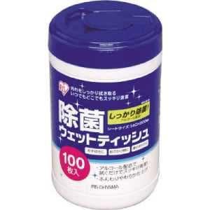 アイリスオーヤマ ウェットティッシュ除菌ボトル WTY-JB100 WTYJB100-SSS
