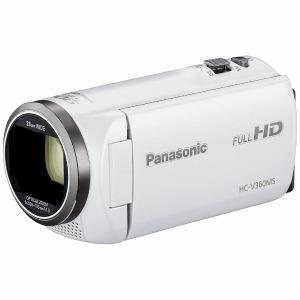 パナソニック HC-V360MS-W デジタルハイビジョンビデオカメラ ホワイト