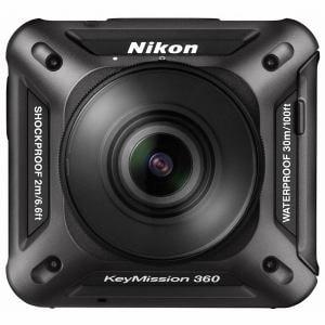 ニコン KEYMISSION360BK アクションカメラ 「(キーミッション)KeyMission 360」