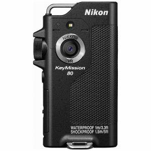 ニコン KEYMISSION80BK アクションカメラ 「(キーミッション)KeyMission 80」ブラック