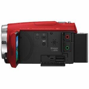 ソニー HDR-CX680-R デジタルHDビデオカメラレコーダー レッド