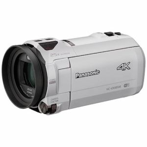 パナソニック HC-VX985M-W デジタル4Kビデオカメラ ホワイト