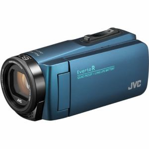 JVC GZ-R480-A ハイビジョンメモリービデオカメラ 「Everio(エブリオ) Rシリーズ」 32GB ネイビーブルー