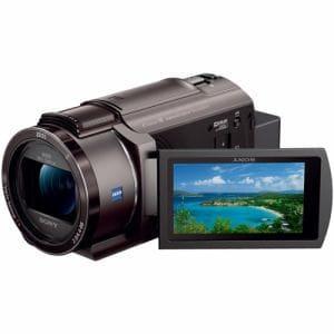 ソニー FDR-AX45-TI 「Handycam(ハンディカム)」 デジタル4Kビデオカメラレコーダー ブロンズブラウン