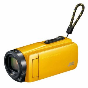 JVC GZ-F270-Y Everio(エブリオ) 32GBメモリー内蔵ハイビジョンメモリービデオカメラ (イエロー)