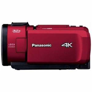 パナソニック HC-VX1M-R 64GBメモリー内蔵 デジタル4Kビデオカメラ レッド
