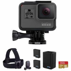 GoPro (ゴープロ) CHDCB-501 マイクロSD対応 4Kムービー ウェアラブルカメラ HERO5 Black スペシャルバンドルセット