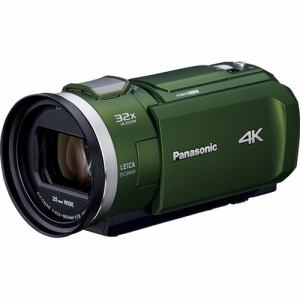 パナソニック HC-VX2M-G デジタル4Kビデオカメラ 64GB内蔵メモリー フォレストカーキ