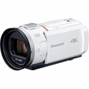 パナソニック HC-VX2M-W デジタル4Kビデオカメラ 64GB内蔵メモリー ピュアホワイト