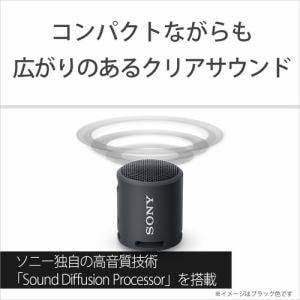 ソニー SRS-XB13 PC ワイヤレスポータブルスピーカー XBシリーズ コーラルピンク