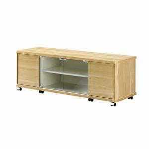 朝日木材加工 AS-ND1200H テレビボード 52型まで ホワイトナチュラル