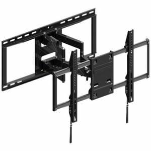 朝日木材加工 FLM-006-BK 壁掛け金具 フルモーションタイプ