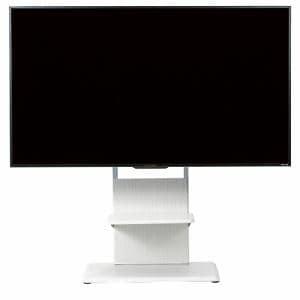 YAMADASELECT(ヤマダセレクト) YFST5565W テレビスタンド 55-65インチ用 ホワイト