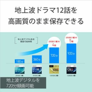 ソニー 5BNE3VCPS2 2倍速BD-RE XL 5枚パック 100GB ホワイトプリンタブル