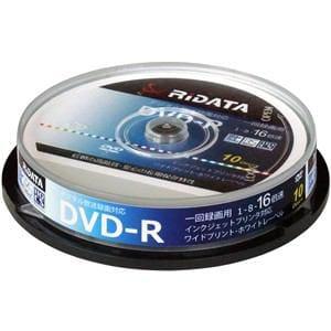 RiDATA 一回録画用DVD-R 10枚 D-RCP16X.PW10RDD