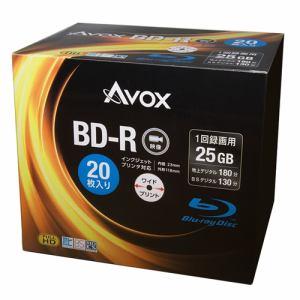 テクタイト BR130RAPW20A 録画用ブルーレイディスク BD-R(SL:一層) 25GB 20枚スリムケース