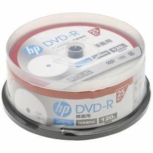 ヒューレットパッカード DR120CHPW25PA 16倍速対応DVD-R 120分 25枚パック
