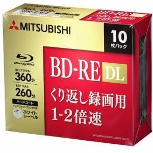 三菱ケミカルメディア VBE260NP10D5 ヤマダ電機オリジナルモデル 録画用BD-RE DL(片面2層)