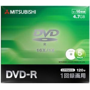 三菱ケミカルメディア VHR12JP5D1 録画用DVD-R(片面1層)