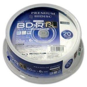 磁気研究所 HDVBR50RP20SP 録画用 BD-R DL 1-6倍速 50GB 20枚