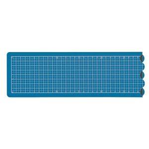 ナカバヤシ CTMO-A201-DB 折りたたみカッティングマット A2 1/4サイズ ダークブルー