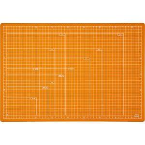ナカバヤシ 折りたたみカッティングマット A3サイズ オレンジ CTMO-A3-OR