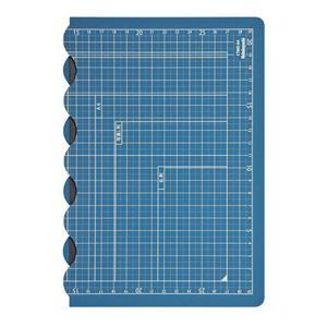 ナカバヤシ 折りたたみカッティングマット A4サイズ ダークブルー CTMO-A4-DB