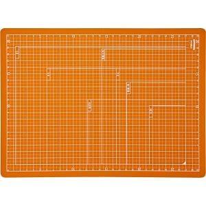 ナカバヤシ 折りたたみカッティングマット A4サイズ オレンジ CTMO-A4-OR