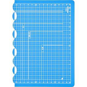 ナカバヤシ 折りたたみカッティングマット A4サイズ スカイブルー CTMO-A4-SB