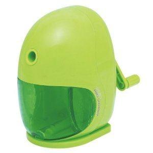 ナカバヤシ 押さえやすい 手動えんぴつ削りき グリーン DPS-H201G