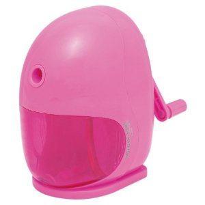ナカバヤシ 押さえやすい 手動えんぴつ削りき ピンク DPS-H201P