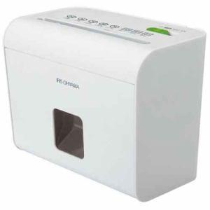 アイリスオーヤマ マイクロカットシュレッダー A5サイズ ホワイト HS4SC