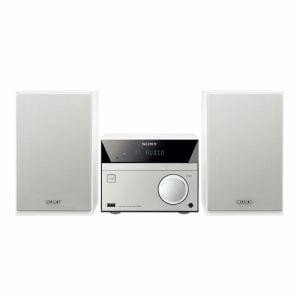 ソニー マルチコネクトコンポ (ウォークマン・CD対応) ホワイト CMT-SBT40/W