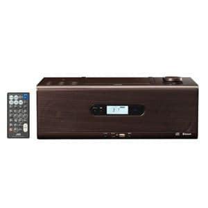 JVC RD-W1-T Bluetooth対応 CDコンポ ブラウン