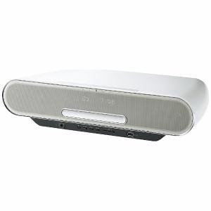 パナソニック SC-RS75-W 【ハイレゾ音源対応】 ワイドFM対応コンパクトステレオシステム ホワイト